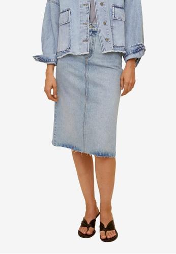 Mango blue Denim Skirt 54648AA848591BGS_1