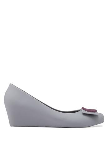 Twenty Eight Shoes 灰色 優雅楔型鞋 394C4SHEBB897EGS_1
