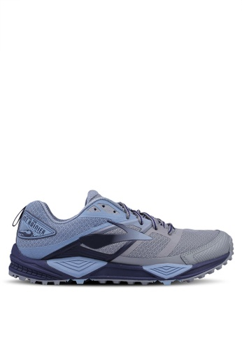 Brooks grey Cascadia 12 Shoes 5FA2BSHE58C6F1GS_1