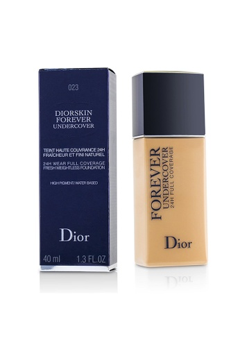 Christian Dior CHRISTIAN DIOR - Diorskin Forever Undercover 24H Wear Full Coverage Water Based Foundation - # 023 Peach 40ml/1.3oz D922BBEEF01E38GS_1