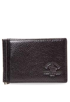 Genuine Leather Money Clip Wallet