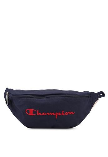 champion navy Japan Range Zip-Top Horizontal Waist Bag 1148FACA7AA424GS_1