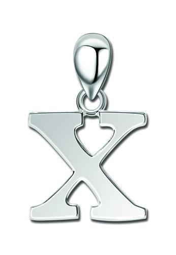 "SC Tom Silver silver Letter Pendant "" X "" SC872AC0J6FPPH_1"