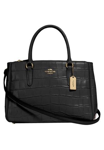 Coach black Surrey Carryall Bag (cv) 7F363ACE4A9F33GS_1