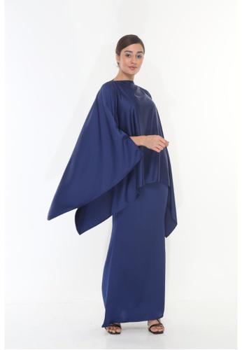 Amar Amran blue Baju Kurung  Kaftan Kaulawa 995AFAAF99A73AGS_1