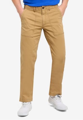 8bc4a9185a85 GAP brown Stretch Utility Workwear Pants FF46BAAB6FBECFGS 1