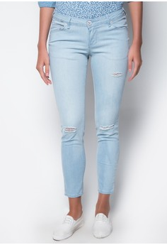 Modified Fashion Denim Skinny Low Waist Pants