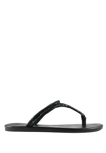 STEFANIA BALDO black Arianne Sandals ST294SH12DKXID_1