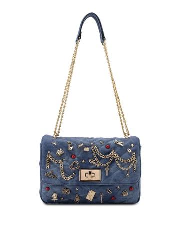 7c728f77372 ALDO blue Aderran Double Chain Bag A6EC0AC88B9163GS 1