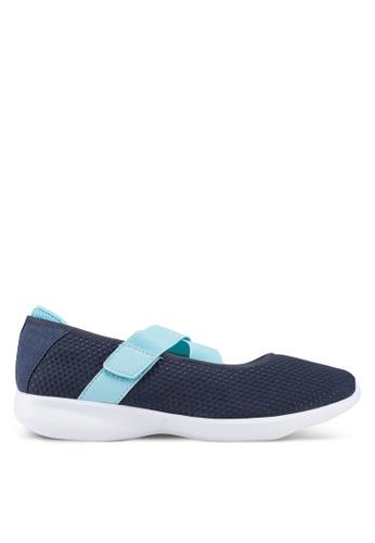 Power navy Contour Oasis Walking Shoes C20FFSH0C40085GS_1