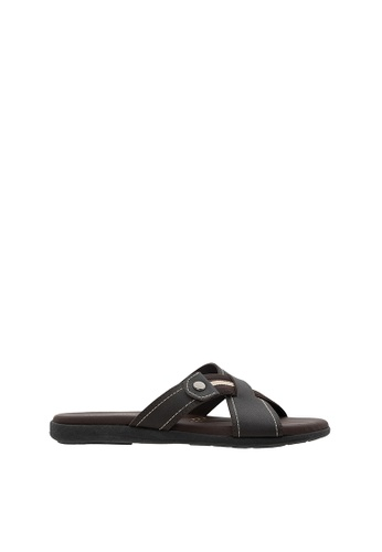 SEMBONIA brown SEMBONIA Men Sandal (Brown) 0D497SH8EBB6E0GS_1