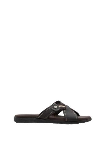 SEMBONIA brown SEMBONIA Men Sandal (Brown) 0D497SH8EBB6E0GS_1