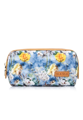 ULA ULA blue ULA ULA Blossom Morning Cosmetic Pouch 1EA5DBEF336499GS_1