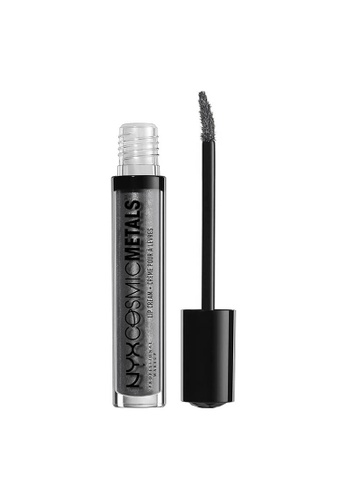 NYX Professional Makeup grey NYX Professional Makeup Cosmic Metals Lip Cream - GALACTIC 0F7CBBECF9D67DGS_1