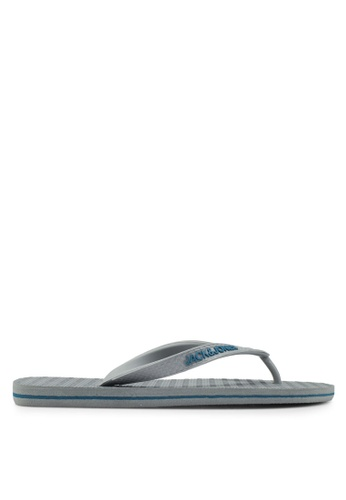 Jack & Jones grey Basic Flip-Flops F580ASH9218D03GS_1