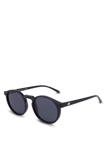 Le Specs black Teen Spirit Deux Sunglasses 46DB4GLE4FE105GS_1
