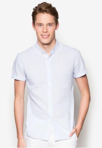 泡泡紗貼esprit旗艦店身短袖襯衫, 服飾, 襯衫
