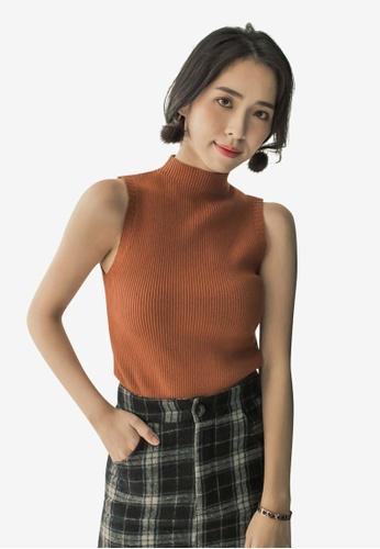 c884532b8fbce Buy Tokichoi Sleeveless Knitting Top Online on ZALORA Singapore