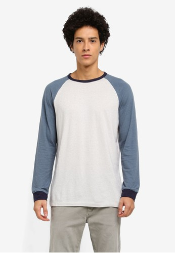 harga Raglan Sleeve T-Shirt Zalora.co.id