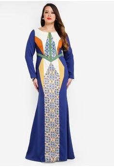 a46f421e9f3 Love By Syomir multi Michelle Long Dress FF276AAD47ACBBGS 1