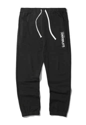 :CHOCOOLATE grey Vertical logo sweatpants 805B0AAD67440DGS_1