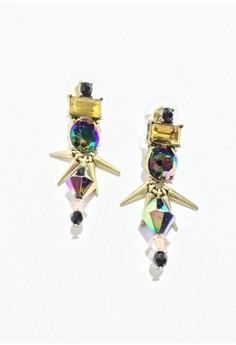 Antique Rivet Statement Earrings