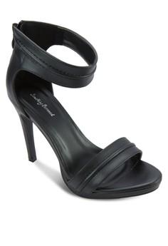 Platform Open Toe Sandal Heel