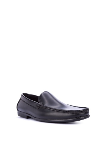 Preview black Moc Toe Loafers 8027ESH7C04571GS_1
