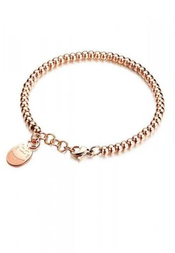 ADORA Stainless Steel Bead Bracelet AD365AC2VTJ3HK_1