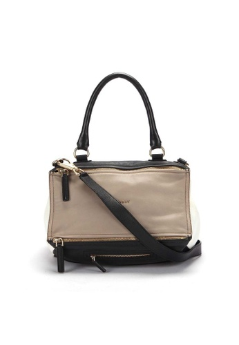 GIVENCHY beige Pre-Loved givenchy Givenchy Pandora Large Shoulder Bag in Beige 112B0AC3C917FCGS_1