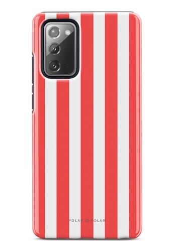 Polar Polar red Scarlet Stripe Dual-Layer Tough Case Glossy For Samsung Galaxy Note20 5G 1F8C2AC480B986GS_1
