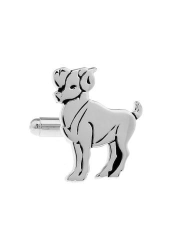 The Little Link Cufflinks silver Aries Cufflinks TH089AC06QVHSG_1