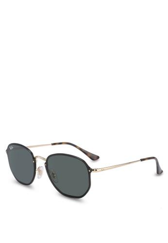 Ray-Ban gold Ray-Ban RB3579N Sunglasses 191A6GLC828C56GS_1