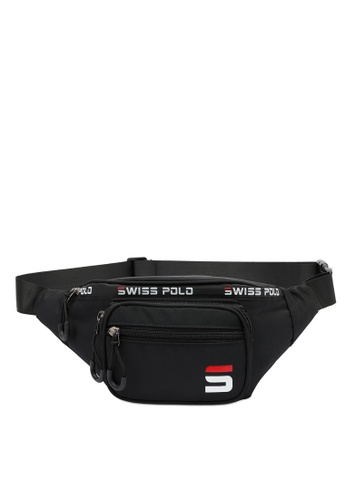 Swiss Polo black Water Proof Waist Bag CFD94ACDC1F84FGS_1