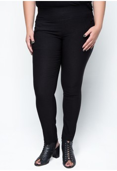Plus Size Premium Tapered Trousers 513