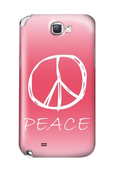 Peace Sign Hard Case for Samsung Galaxy Note