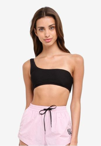 Billabong black Tanlines One Shoulder Bikini Top 80633US1E0BE37GS_1