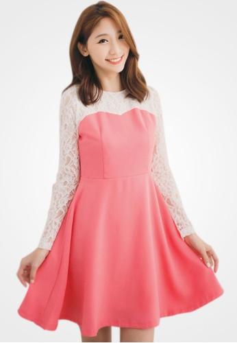 Sesura pink Fairytale Romance Princess Dress 46EC2AA1CF3325GS_1
