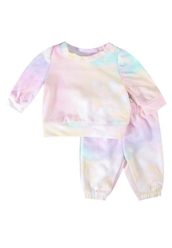 GAP pink Tie Dye Set 90B2EKAE948DF2GS_1