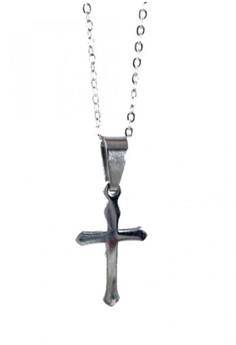 Skinny Cross Necklace