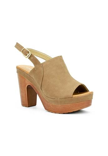 Cardam's Lifestyle brown CLS 95621 Brown Heels C821FSH0293C54GS_1