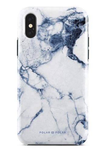 Polar Polar blue Indigo Vase Dual-Layer Tough Case Glossy For iPhone X / XS 52318AC0EDC997GS_1