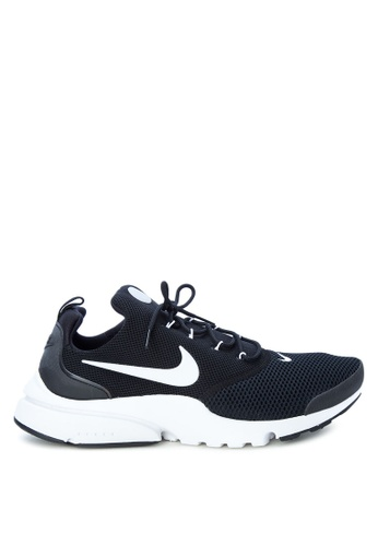 Nike black and white Men's Nike Presto Fly Shoes NI126SH0SN8KMY_1