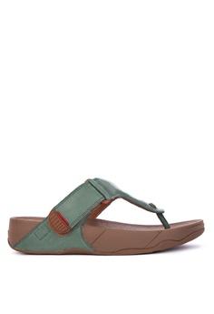 4e699f34dd1e Fitflop green Trakk II Sandals F720CSH843B459GS 1