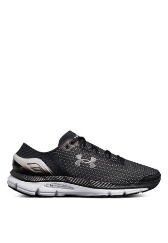 Under Armour black UA Speedform Intake 2 Running Shoes 0986DSHD3D8F7BGS_1