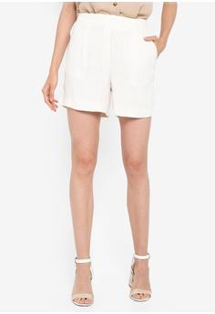 24c9613a5e Dorothy Perkins white Ivory Linen Look Shorts C457DAA3B0C810GS_1