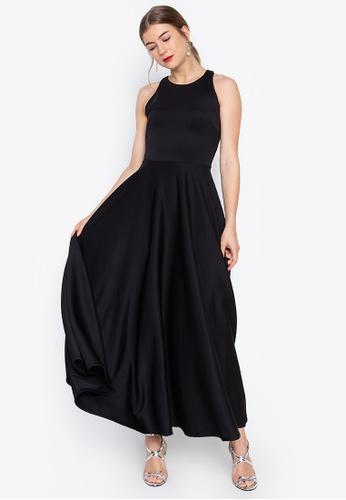 Parisienne Halter Formal Gown