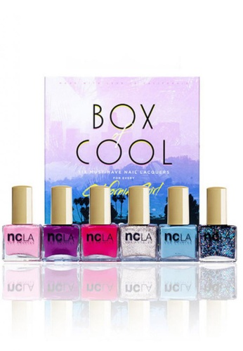 NCLA pink and green and blue and purple and silver NCLA Box Of Cool NC633BE93ZZESG_1