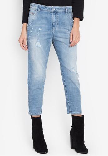 Diesel navy Fayza-Evo L30 Trousers Jeans DI095AA0JV84PH_1