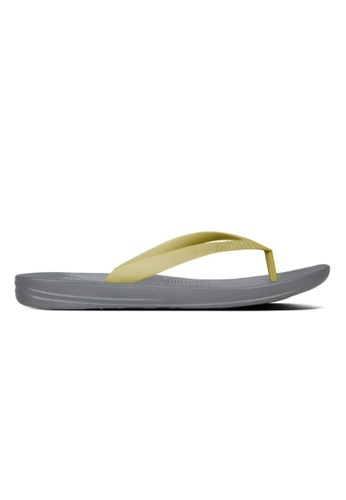 618747c9cd8b Fitflop grey Fitflop Iqushion Ergonomic Flip-Flops Slate Grey  E3FFFSH9CC0840GS 1